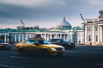 Architecture and transport in Moscow - Free image #200755