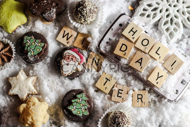 Christmas cookies decoration - Free image #200795