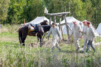 Reenactment of the Borodino battle - Kostenloses image #201155