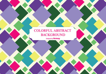 Colorful Abstract Background - vector #201215 gratis