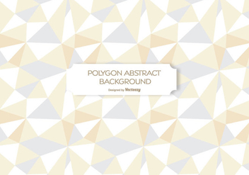 Polygon Abstract Background - Kostenloses vector #201225
