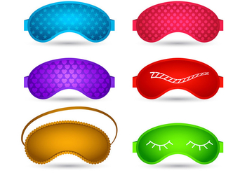 Sleep mask vector - Free vector #201295