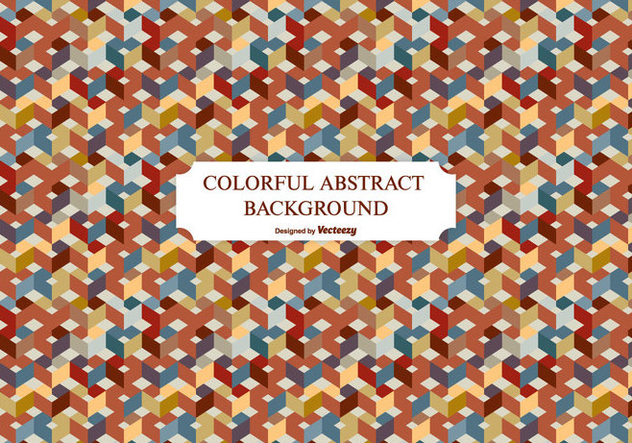 Colorful Abstract Background - Free vector #201365