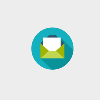 Free Vector Email Letter Icon - Free vector #201845