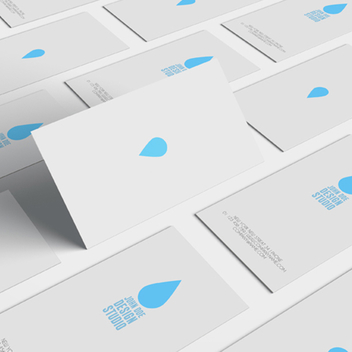 Minimal Business Card Design Template - vector gratuit #202075