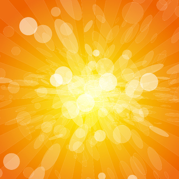 Orange Lights Vector Background - Kostenloses vector #202145