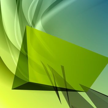 Free Vector Green Abstract Background - Free vector #202335
