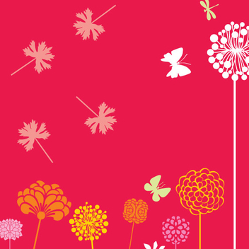 Free Vector Spring Flowers - Kostenloses vector #202415