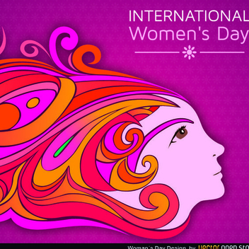 Free Vector Women's Day Design - vector gratuit #202425