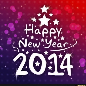 Free Vector New Year Background - vector gratuit #202455