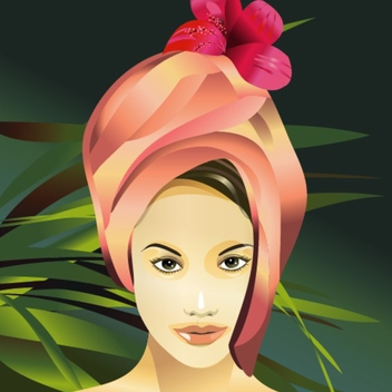 Free Spa Beauty Vector - бесплатный vector #202575