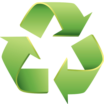 3d Recycle Icon - Free vector #202765