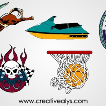 Vector Graphics For Logo Design - Free vector #202795