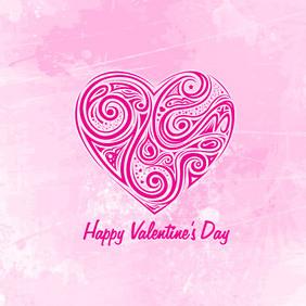 Hearts Valentines Day - vector gratuit #202865