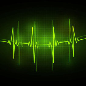ECG Abstract Vector Background - бесплатный vector #202915