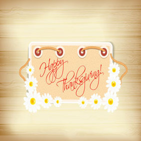 Free Thanksgiving Illustration #5 - Free vector #203035