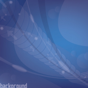 Blue Background Lights - Free vector #203125