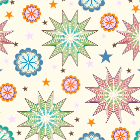 Vector Seamless Pattern 306 - Free vector #203195
