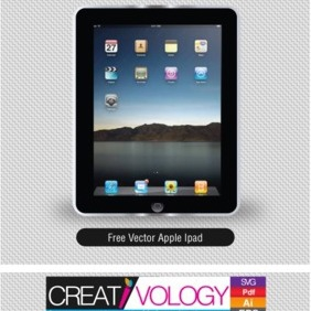 Free Vector Apple Ipad - vector gratuit #203235