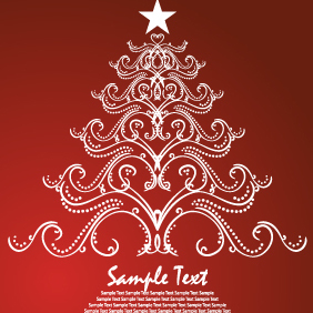 Christmas Vector Illustration-2 - бесплатный vector #203265