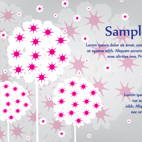 Dandelion Sweet Vector Card - бесплатный vector #203275