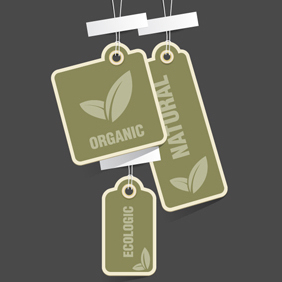 Free Vector Of The Day #152: Eco Tags - Kostenloses vector #203345