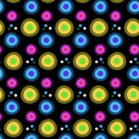 Retro Vibrant Free Photoshop And Illustrator Pattern - Free vector #203505