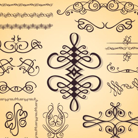 Free Caligraphy Stuff - vector #203545 gratis