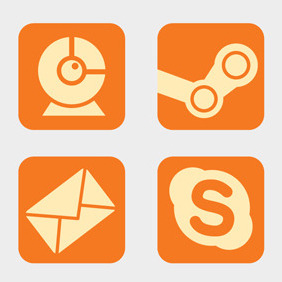Free Vector Of The Day #107: Desktop Icons (Part 1) - vector #203795 gratis