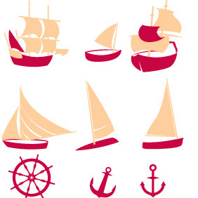 Nautical 1 - vector gratuit #203855