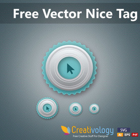 Free Vector Nice Tag - Free vector #204195