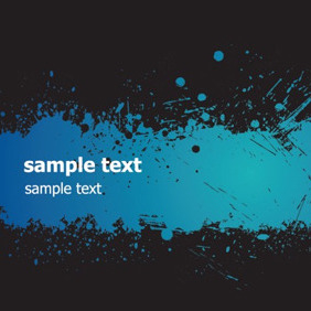 Gradient Blue Grunge - Free vector #204475