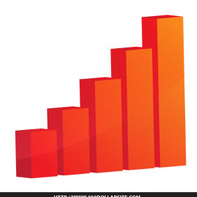 Bar Graph Free Vector - vector gratuit #204915