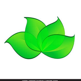 Free Leaf Vector - vector gratuit #205055