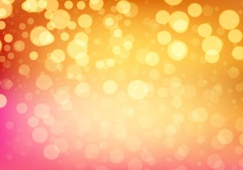 Bokeh Vector Background - vector #205095 gratis