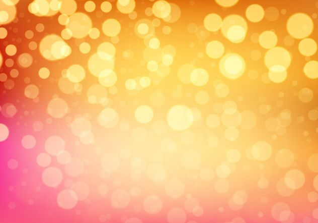 Bokeh Vector Background - vector gratuit #205095