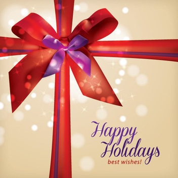 Holiday Gift - vector gratuit #205245
