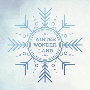Winter Wonder Land - vector gratuit #205285