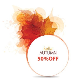 Hello Autumn - Free vector #205345