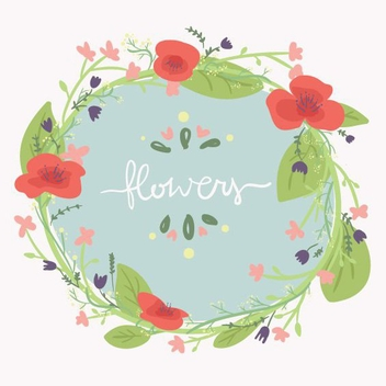Flowers Banner - Free vector #205415