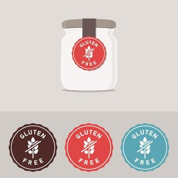 Gluten Free Label - Free vector #205495