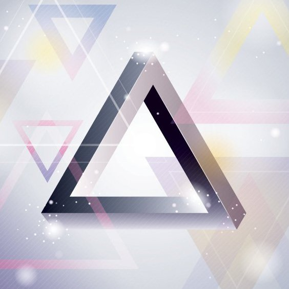 Triangle Background - Free vector #205885