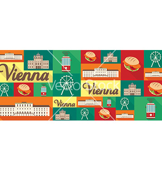 Free travel and tourism icons vienna vector - Free vector #205895