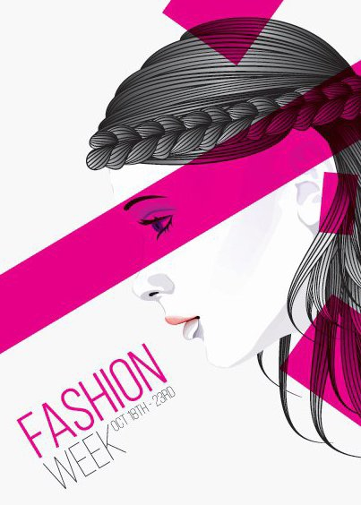 Fashion Week Poster - Free vector #205915
