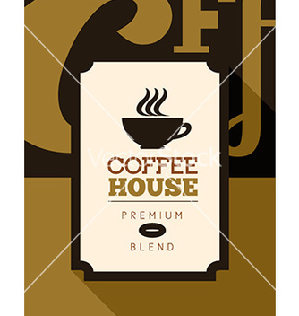 Free coffee poster vector - бесплатный vector #206035