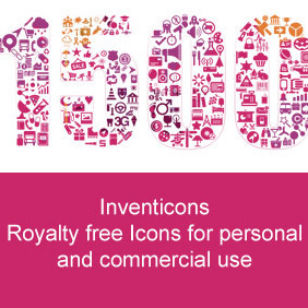 1500 Royalty Free Icons For Personal And Commercial Use - vector #206395 gratis