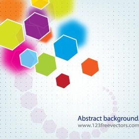 Abstract Polygon Background Vector - vector gratuit #206465