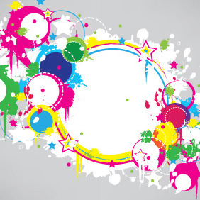 Colorful Summer Banner - Free vector #206585