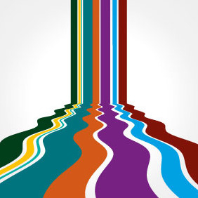 Perspective Vector Background Abstract - vector #206625 gratis