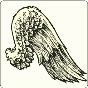 Wings 8 - vector #206675 gratis